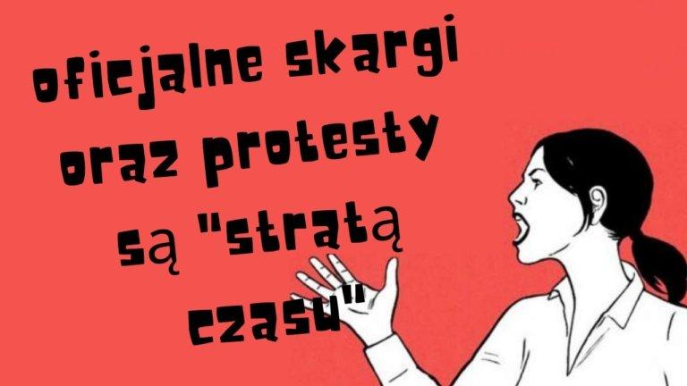 """Odrodzenie Suwerenów – oficjalne skargi oraz protesty są """"stratą czasu"""""""