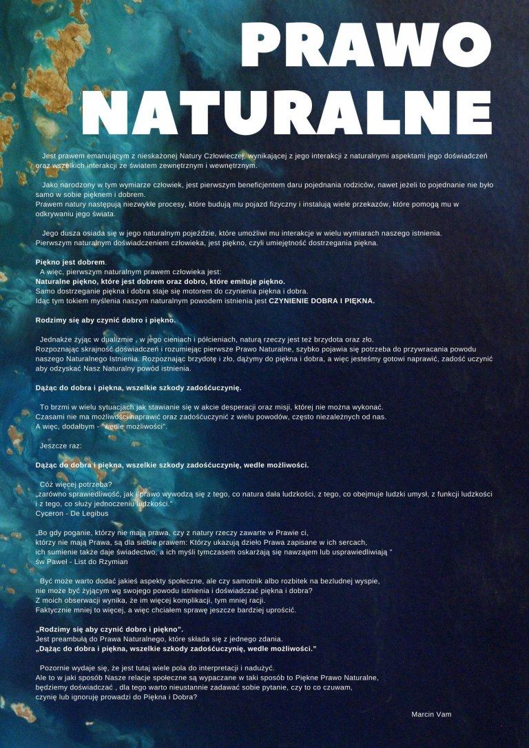 Prawo Naturalne | Ariowie